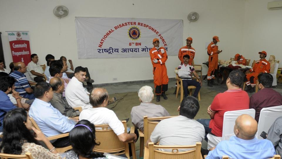 Noida,disaster management cell,mock drill