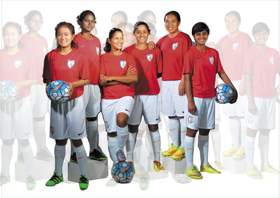 huge selection of c0564 35f29 Beauty Special! The National Indian Girls Football Team gets ...