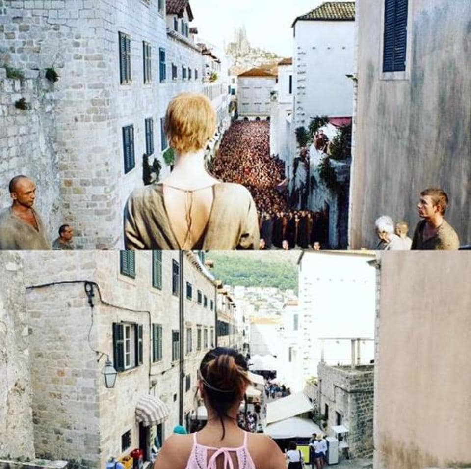 Game of Thrones fan? Recognised this scene? Do you know in which city Lena Headey's infamous and humiliating walk of shame was shot? Dubrovnik in Croatia!