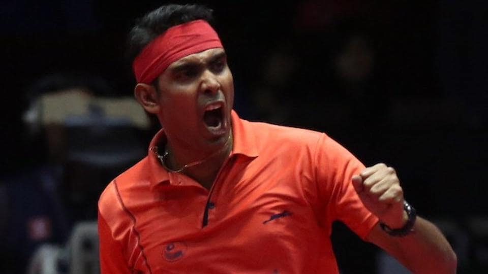 Achanta Sharath Kamal beat Paul Drinkhall in the India Open quarterfinals.