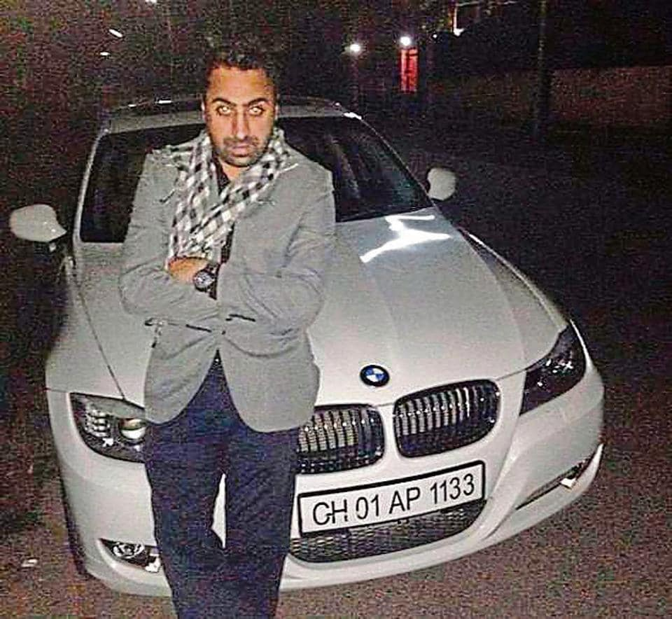 Balraj Singh Randhawa is accused of running over Akansh Sen with his BMW following an altercation on February 9.