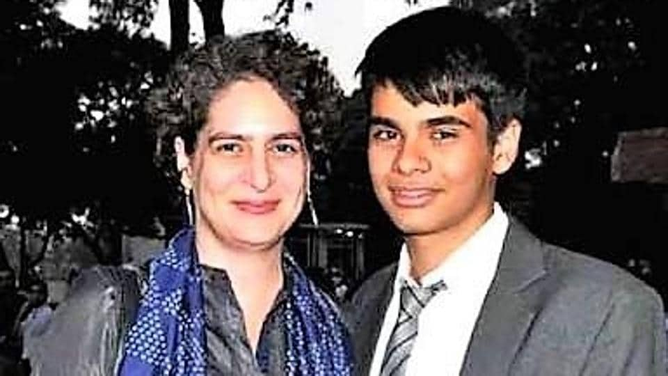 Priyanka Gandhi's son undergoes eye treatment at Hyderabad hospital