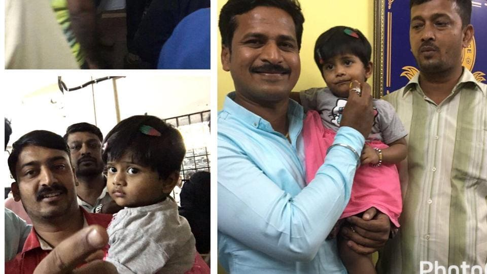 Mumbai Police found two-and-half-year-old Shifa Shaikh after right days of investigation.