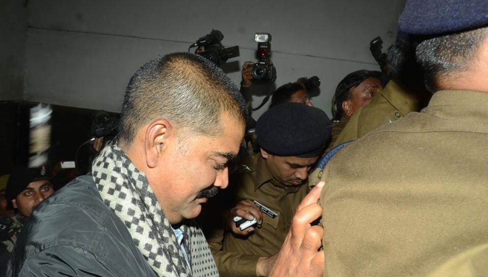 Shahabuddin,Siwan,Tihar jail