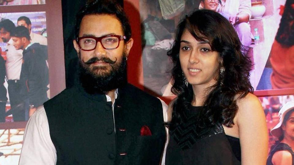 Ira is Aamir Khan's only daughter.