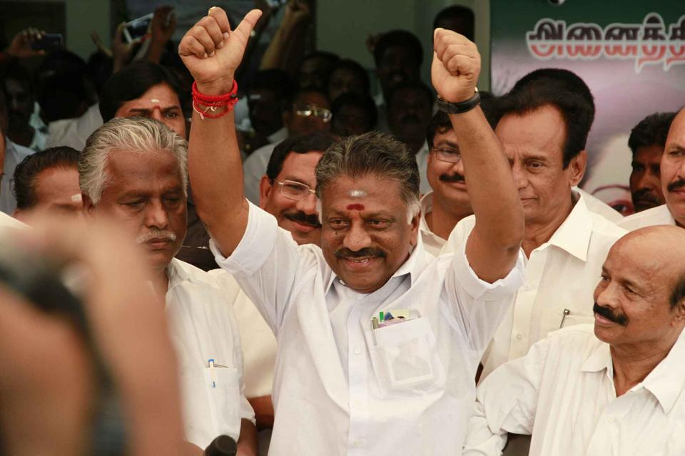 O. Panneerselvam's camp received a boost late Friday  when Coimbatore MLA Arun Kumar decided to skip Saturday's trust vote in the assembly.