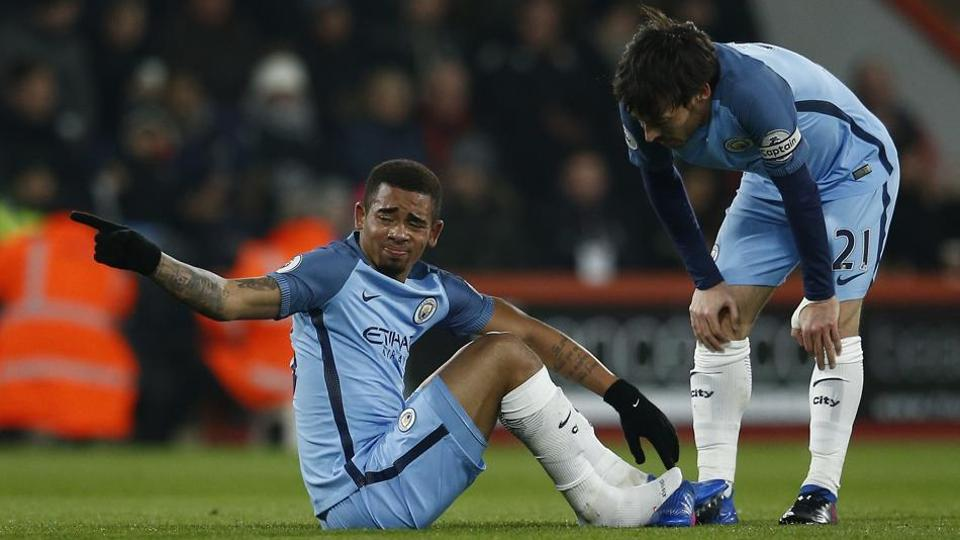 Gabriel Jesus might not  feature for Manchester City F.C in the Premier League season after suffering a broken foot.