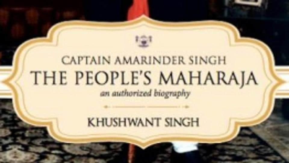 Captain Amarinder Singh's biography by Khushwant Singh will be released on February 21.