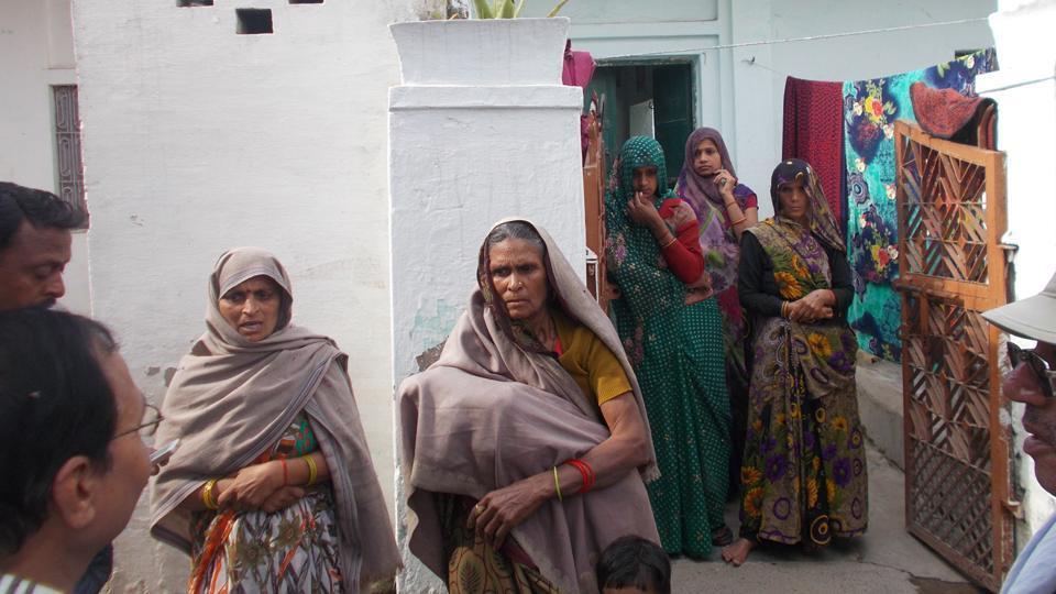 Data Ram's kin in Rudayan village.
