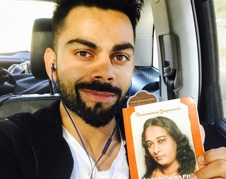 Virat Kohli has stated that the Autobiography of a Yogi is a must-read book for all people.