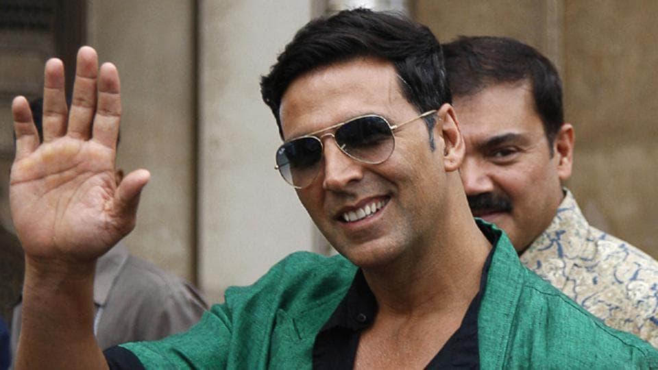 Akshay Kumar,Toilet-Ek-Prem Katha shoot,Toilet-Ek-Prem Katha
