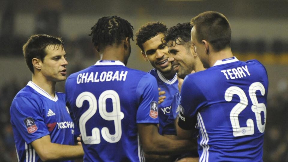 Chelsea F.C stayed on course for the double of the FACup and Premier League titles as they defeated Wolverhampton 2-0 in the FACup.