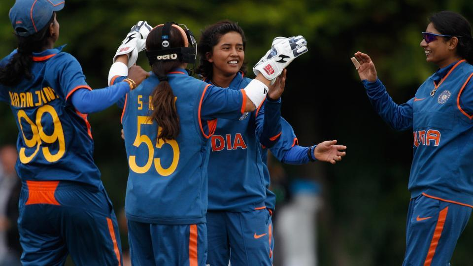 Ekta Bisht picked up the fourth-best haul by an Indian bowler in ODIs as the India women's team thrashed Pakistan by seven wickets in the ICCWomen's World Cup qualifiers.