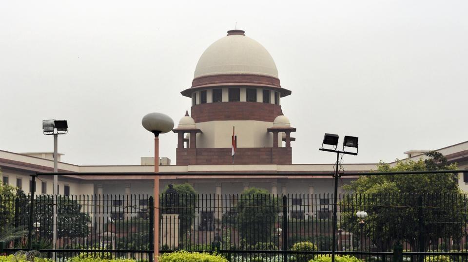A file picture of the Supreme Court in New Delhi.