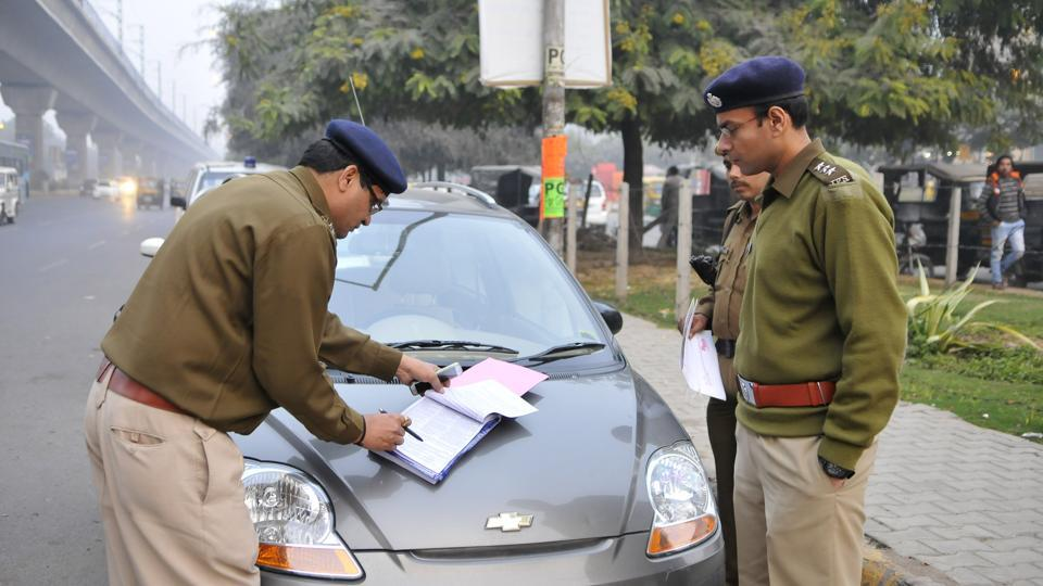 Once a complaint is received, the police would verify if the violation took place before sending a notice to the vehicle owner.