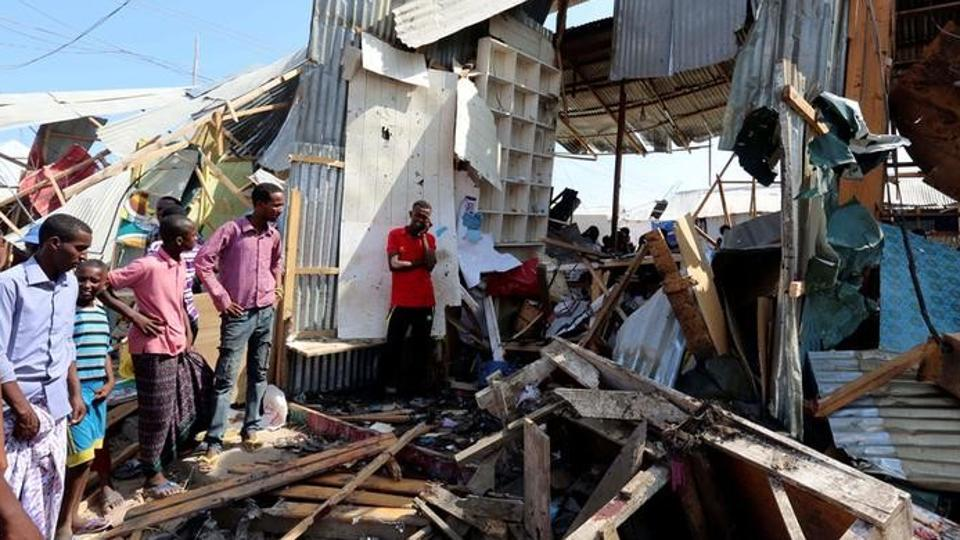 39 killed as car bomb rips through market in Mogadishu - Times Of Oman