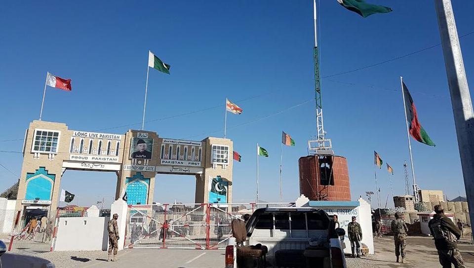 Afghanistan,Pakistan,International border
