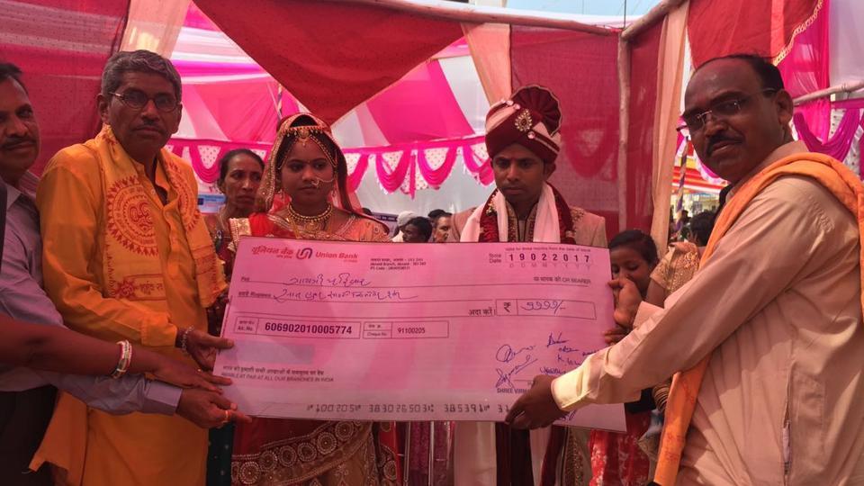 Mass wedding,Cashless,Gujarat