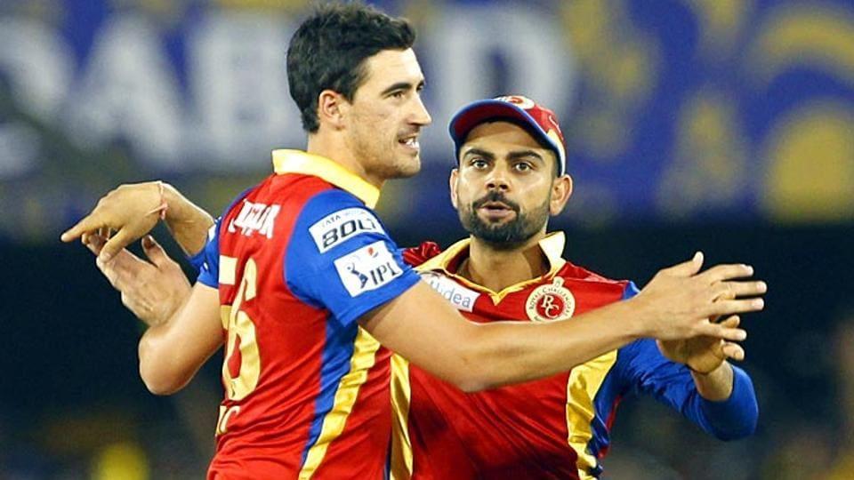 IPL 2017,Mitchell Starc,Royal Challengers Bangalore