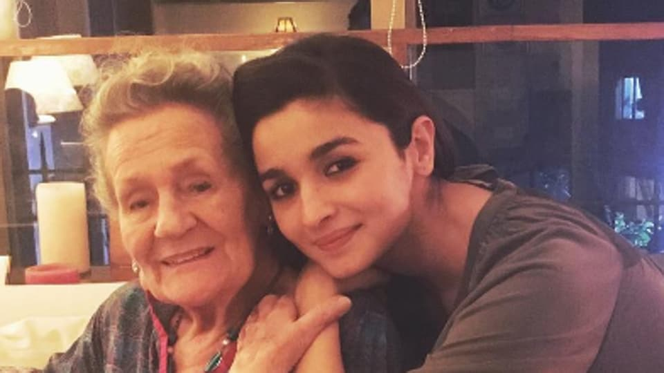 """My beautiful grandmother turns 88! She sang a song on her birthday whilst playing the mouth organ!"" said Alia Bhatt on Instagram."