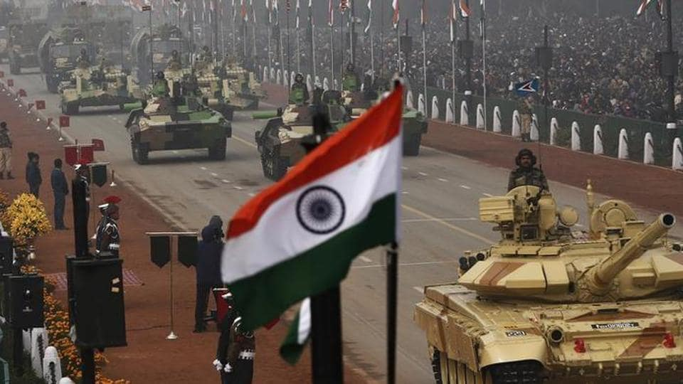 India was the world's largest importer of major arms in the last five years and its overseas procurement was far greater than that of China and Pakistan.