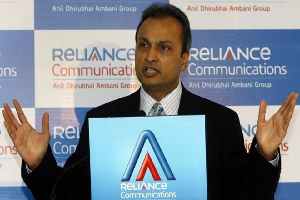 Anil Ambani, chariman of ADAG, is in talks with Tata Group for a possible merger of their telecom businesses.