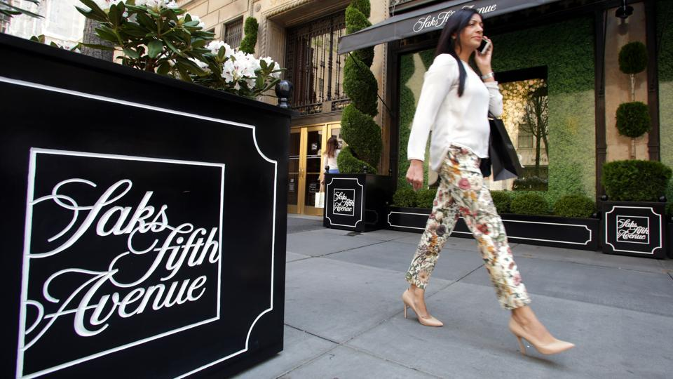 A Saks Fifth Avenue store in Manhattan. Besides retailing goods from luxury retailers, the company is also expected to introduce brands like Ralph Lauren in India.