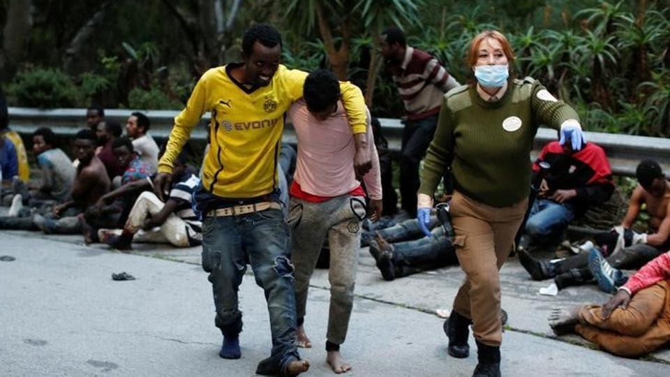 African migrants,Spain,Ceuta
