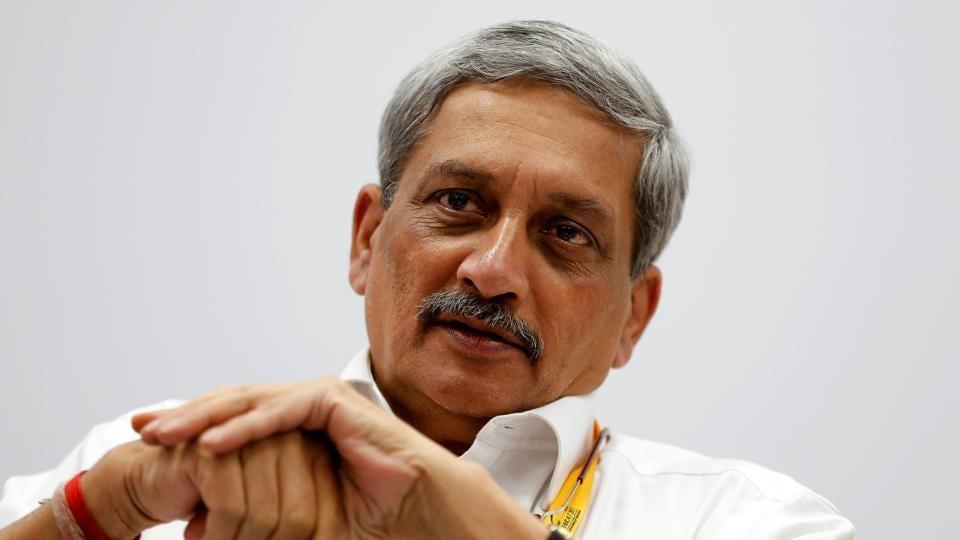 Defence minister Manohar Parrikar.