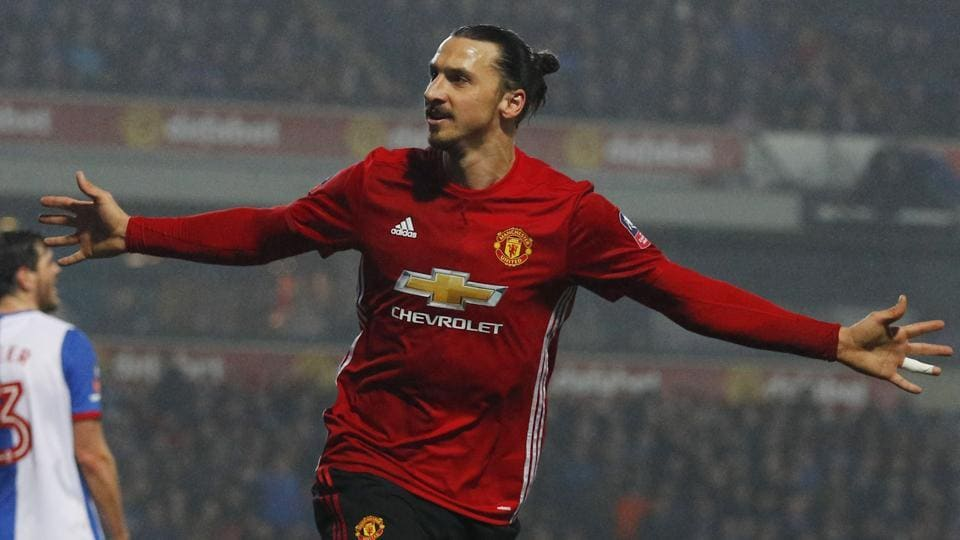 Zlatan Ibrahimovic,Manchester United,FA Cup