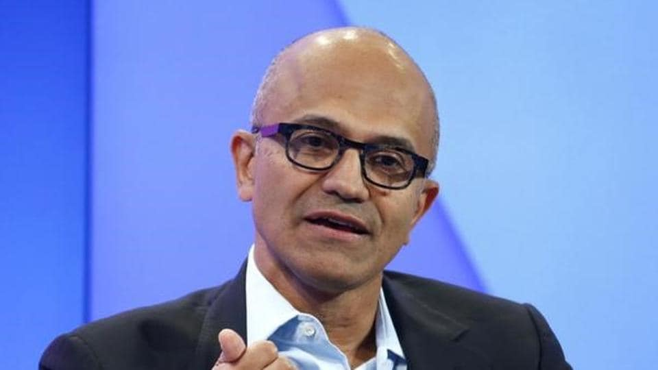Satya Nadella, CEO of Microsoft Corporation attends the annual meeting of the World Economic Forum (WEF) in Davos.