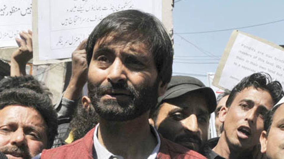 Separatist leader Yasin Malik.