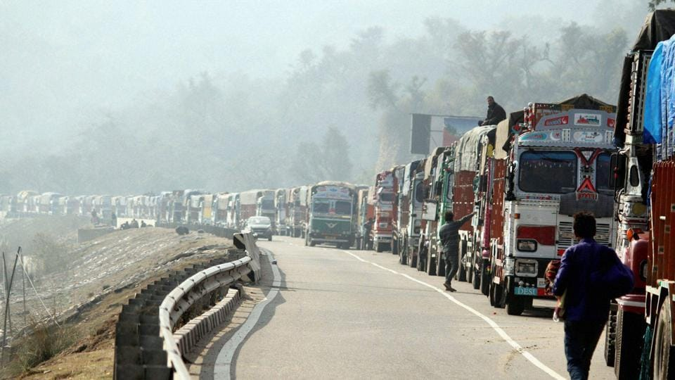 The 300-km long highway gets closed due to heavy rains or snowfall, causing disruption of essential supplies to the landlocked Kashmir Valley.