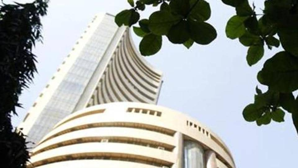 Sensex climbed 100 points on Tuesday on the back of widespread buying.