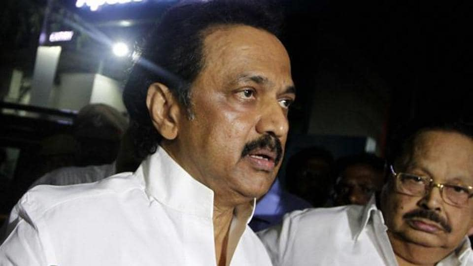 The opposition DMK  on Tuesday submitted a letter to Tamil Nadu Assembly Secretary AMP Jamaludeen for a No-Confidence Motion against Speaker P Dhanapal.