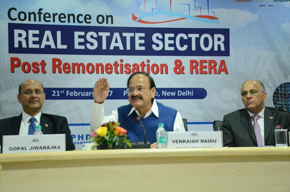 Addressing a conference on Real Estate Sector Post Remonetisation and RERA under the aegis of PHD Chamber of Commerce and Industry, urban poverty alleviation (HUPA) minister M Venkaiah Naidu said that not a single proposal has come from private builders for the affordable housing scheme till date.