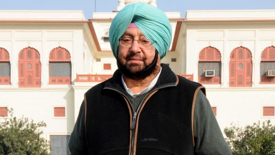Punjab Congress chief Captain Amarinder Singh.