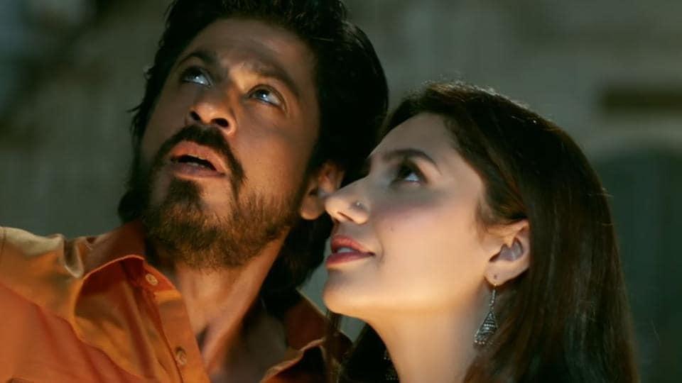 Mahira Khan,Shah Rukh Khan,Raees