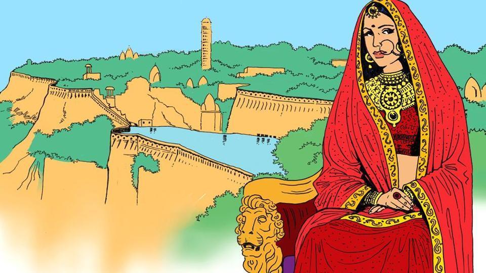 Rani Padmavati,Rani Padmini,Chittorgarh