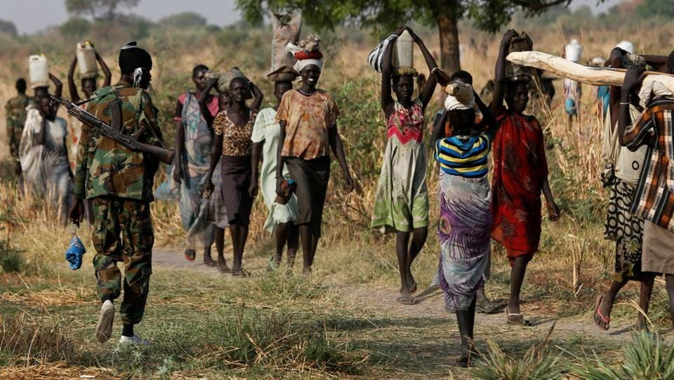 Years of civil war, a refugee crisis and a collapsing economy have taken their toll on South Sudan since it gained its independence in 2011.  (Reuters Photo)