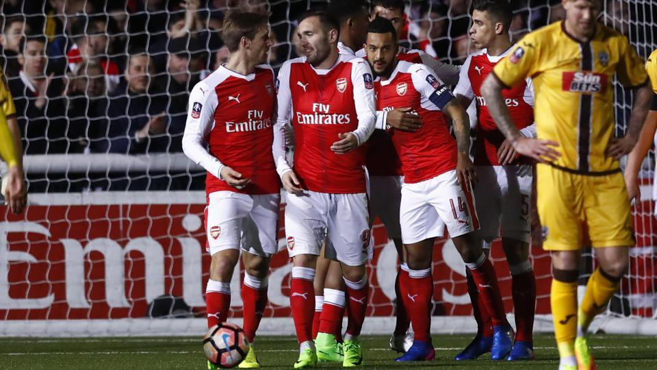 theo 100 goals for arsenal