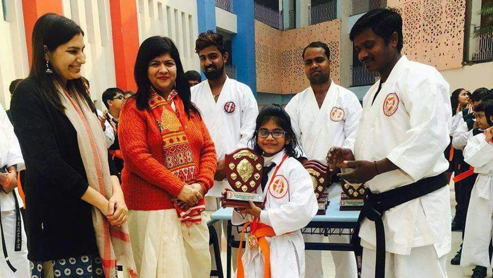 Seven-year-old Ghazal Yadav had died on January 31 after a karate tournament at school.