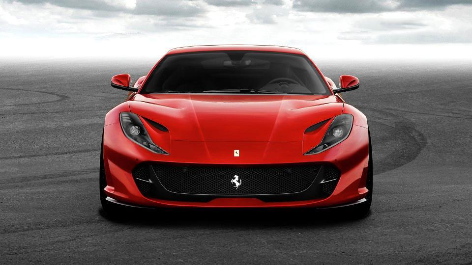 Ferrari 812 Superfast will be showcased at the Geneva Motor Show in March.