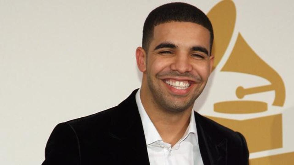 This January 3, 2010, file photo shows Canadian rapper Drake during the Grammy Nominations Concert in Los Angeles on December 2, 2009.