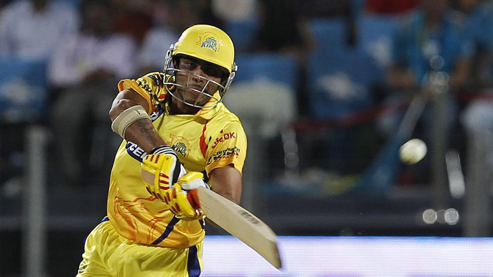 Chennai super kings batsman Ravindra Jadeja bats during an IPL T20 match between Pune Warriors and Chennai super kings in Pune.  2 million dollars was the price paid at an auction for him in 2012. (Hindustan Times)
