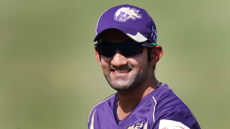 Kolkata Knight Riders captain Gautam Gambhir during a practice session for Indian Premier league 2011 in Jaipur. Gambhir was auctioned for 2.4 million dollars back then. (Hindustan Times)