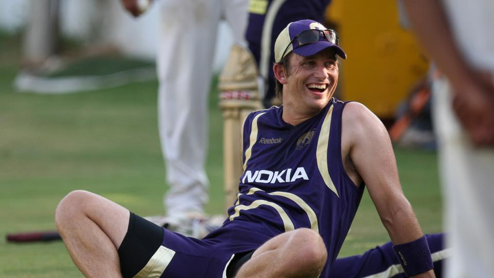 In IPL 2010, Shane Bond was auctioned for $ 7,50,000. Pictured above from a practice session in Ahmedabad. (HIndustan Times)
