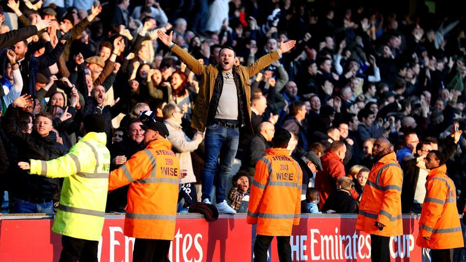 Leicester City F.C. have complained that Millwall F.C. fans abused and intimidated the players in the FACup clash.