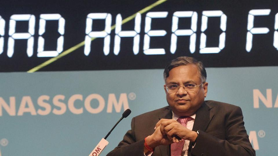 Ratan Tata,Natarajan Chandrasekaran,Tata Consultancy Services Ltd
