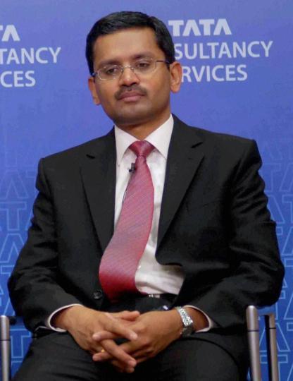 Tata Consultancy Services,N Chandrasekaran,Rajesh Gopinathan